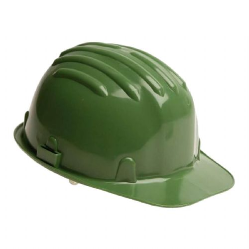 Warrior Green Safety Helmet
